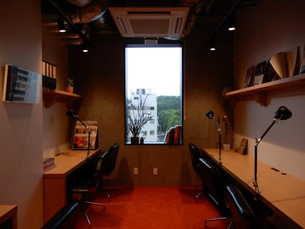 5・6階のオフィススペ―スの一つ。