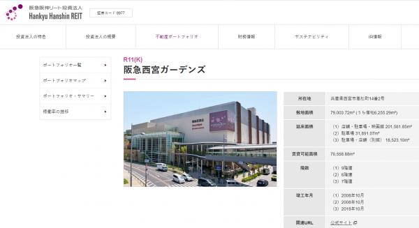 リート 阪急 株価 阪神