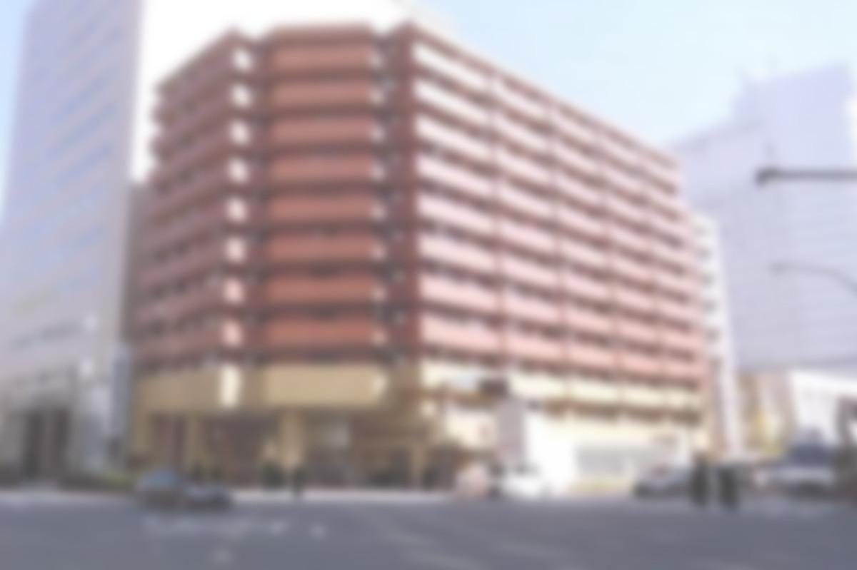 建物の外観 大都市の中心部にあり、立地条件はかなり良い