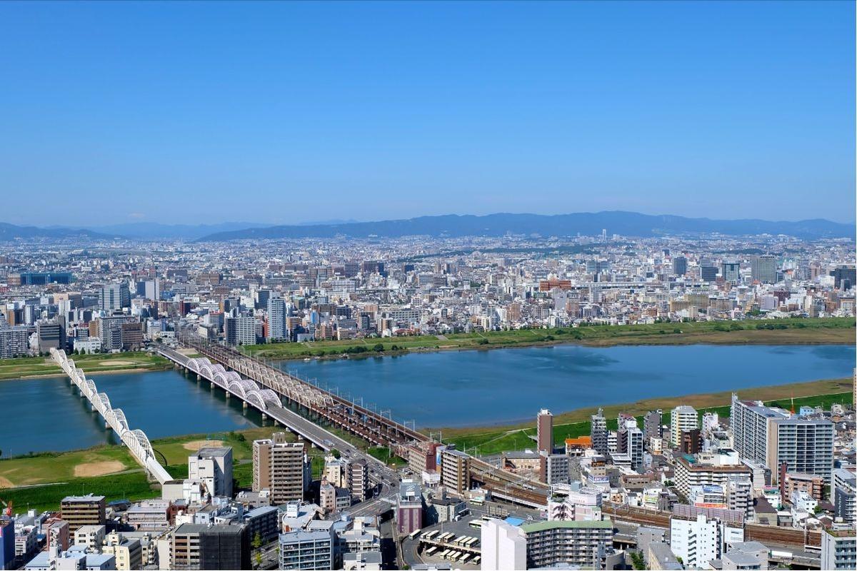 大阪市内の風景