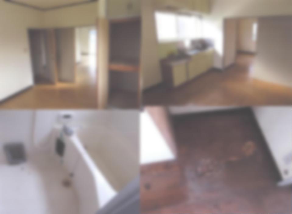 室内 一部床に穴がある
