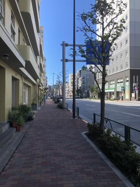 1階商業と上階共同住宅の混在
