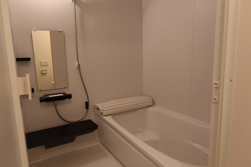 賃貸住宅としては大きめの1611サイズのバスルーム
