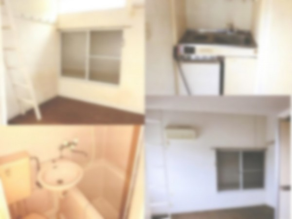 室内写真 壁紙に汚れが目立つので交換、または、クリーニングが必要である