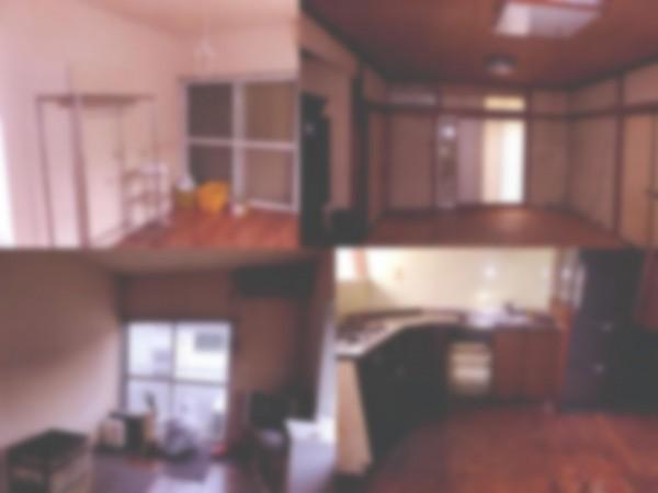 室内写真 1階の3DKの部屋はかなり汚れている